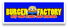 burger factory food cart logo