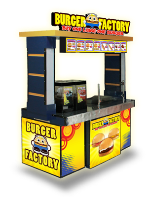 burger factory food cart
